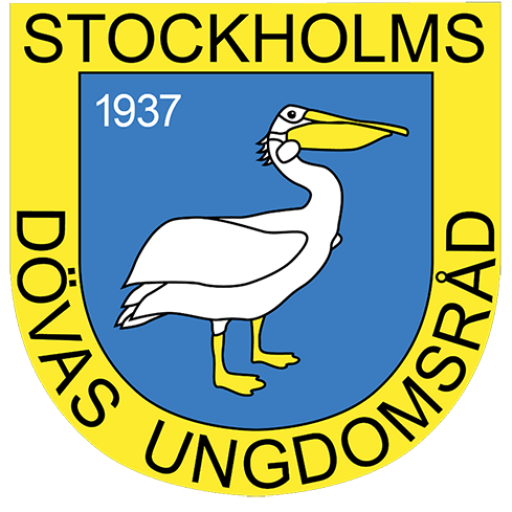 Stockholms Dövas Ungdomsråd Logo